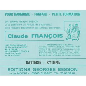 "Nos recueils ""Claude François"""