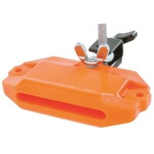 Block piccolo orange en plastique