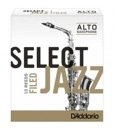 Boîte d'anches D'Addario Filed saxo alto
