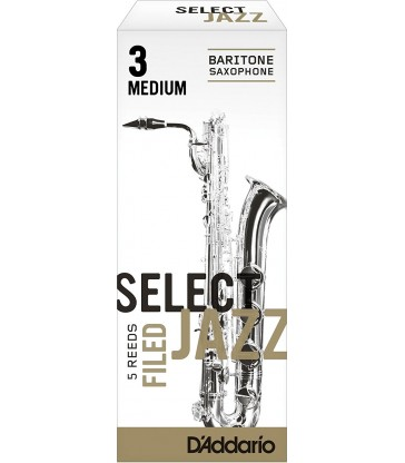 Boîte d'anches D'Addario Filed saxo baryton