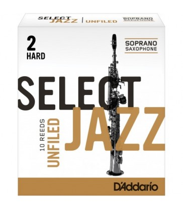 Boîte d'anches D'Addario Unfiled saxo soprano