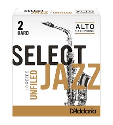 Boîte d'anches D'Addario Unfiled saxo alto