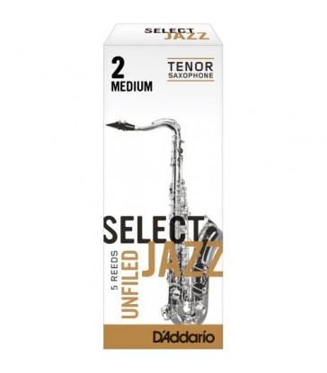 Boîte d'anches D'Addario Unfiled saxo ténor