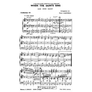 When the saints sing
