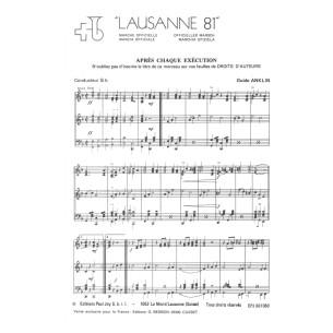 Lausanne 81