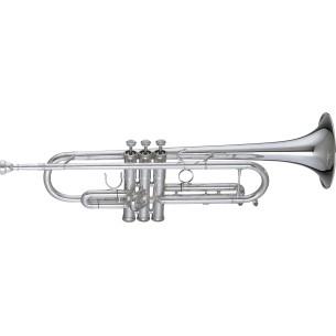 Trompette Si b Eterna  argentée Getzen