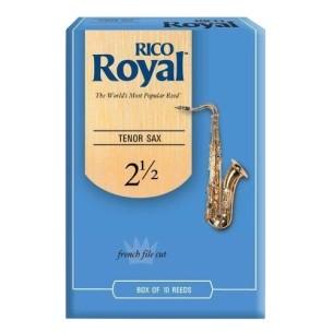 Boîte d'anches Rico Royal pour saxophone ténor