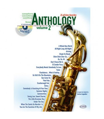 Anthology volume 2 pour saxo