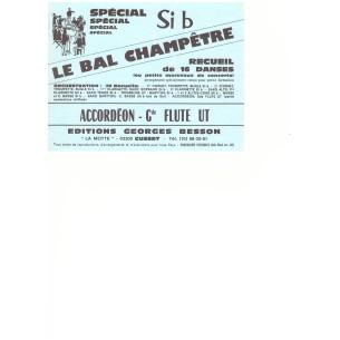 """Nos recueils """"Le Bal Champêtre"""""""