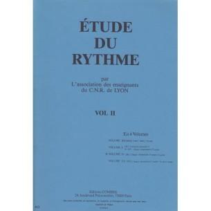 Etude de rythme - CNR de Lyon Vol 2
