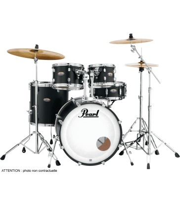 "Batterie Pearl Decade Maple  22"" 5 fûts - Satin Slate Black"
