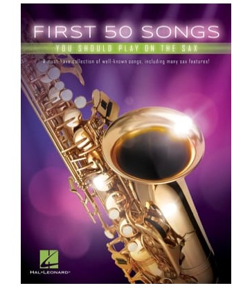 FIRST 50 SONGS SAXO