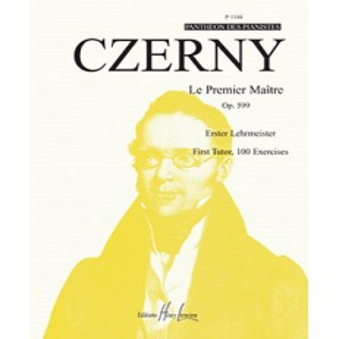 Le premier maître Op.599 Carl CZERNY