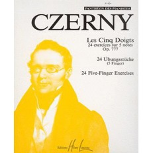 Les 5 doigts Op.777 Carl CZERNY