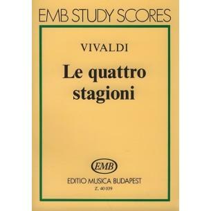 Le Quattro stagioni - Vivaldi (les 4 saisons) Poche