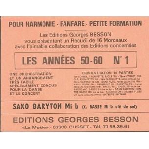 """Recueil """"Les Années 50-60 N°1"""""""