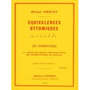 Equivalences rythmiques Vol.1 (25 exercices)