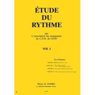Etude du rythme - C.N.R. de Lyon Vol. 1
