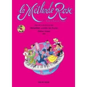 La Méthode Rose 1ère année Piano