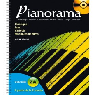 Pianorama Vol.2A (CD inclus)