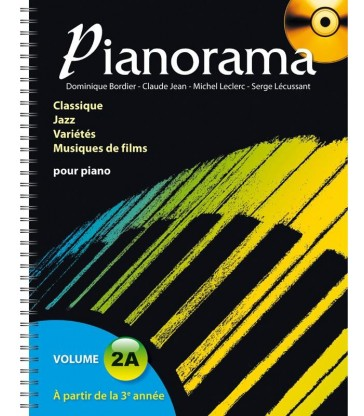Pianorama Vol.2A (CD inclus)