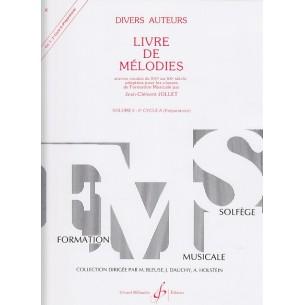 Livre de Mélodies