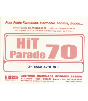 "Nos recueils ""Hit Parade"""