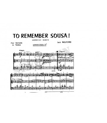 To Remember Sousa