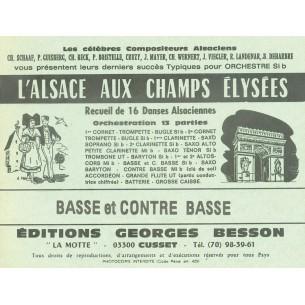 """Nos recueils """"L'Alsace aux Champs Eysées"""""""