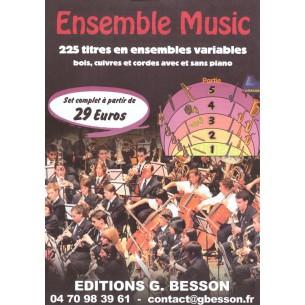 Catalogue Ensemble Music