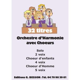 Catalogue Orchestre harmonie avec choeurs