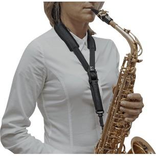 Cordon BG confort avec crochet à pompe pour saxophone