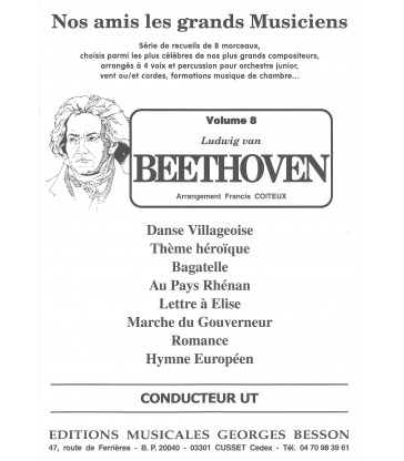 Nos recueils Nos Amis les grands Musiciens Beethoven
