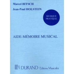 AIDE-MEMOIRE MUSICAL
