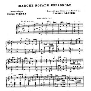 Marche Royale Espagnole