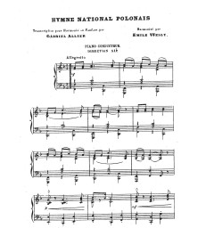 Hymne national polonais