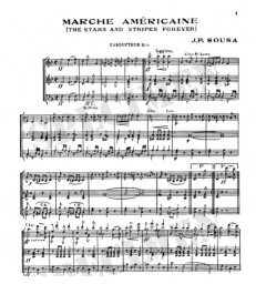 Marche Américaine (The Stars and Stripes Forever)
