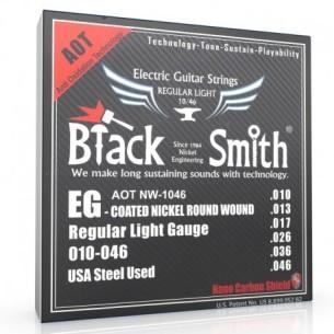 Jeu de cordes guitare électrique Black & Smith