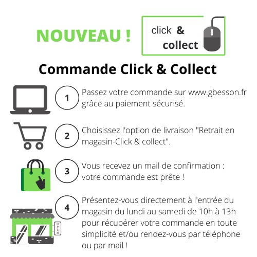 Click and collect-Retrait magasin